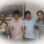 Adriàn Rius, Francisco Melero, Salvador Sebastià, José Franch