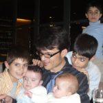 Andreu, Gonzalo y Gema, Adrià y Luis (bautizo)