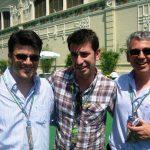 Arturo Valls, Vicent Mesado; GP f1 de Europa 2010