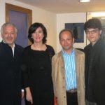 Otto Sauter, Rosa Cardós, Javier Ricart