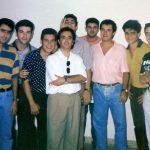 V. Ballester, E. Aparisi, M.Á. Navarro, V. Oliver, A. Cambres, G. Mira, J. Casas, yo, V. Cotanda