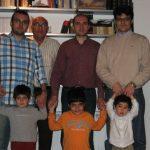 Valeros 2008 (Visen, Papá, Paquito, yo; Uiuo, Adri, Luis)