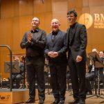 con J. Orentino Sueiro y Steven Mead
