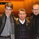 con JM Micó y Teo Aparicio
