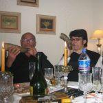 con mi padre, sonata para cuernos