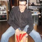 estrenando cajón flamenco